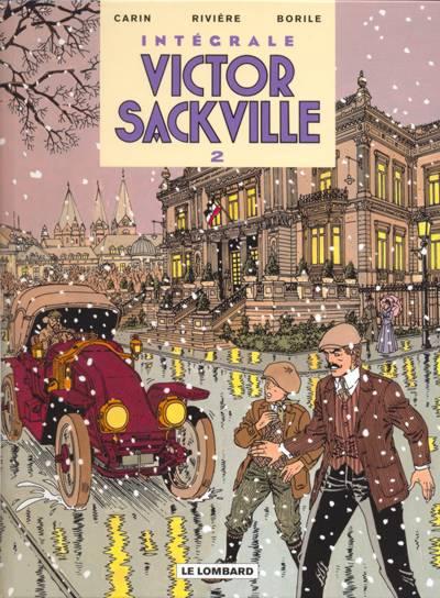 Couverture de Victor Sackville -INT2- L'intégrale - volume 2