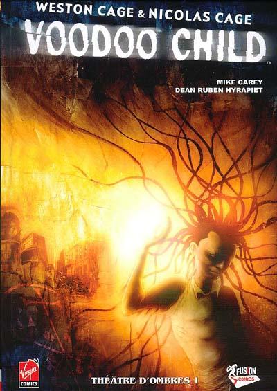 Couverture de Voodoo child -1- Théâtre d'ombres