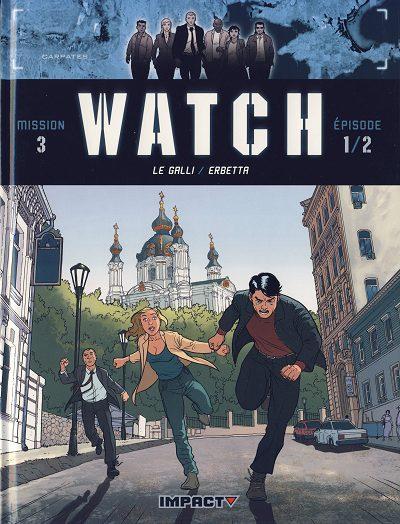 Couverture de Watch -5- A l'est des Carpates