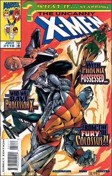 Couverture de What If? vol.2 (1989) -110- Uncanny x-men : family ties