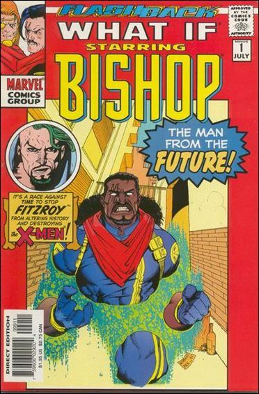 Couverture de What If? vol.2 (1989) --1- Bishop : the traitor