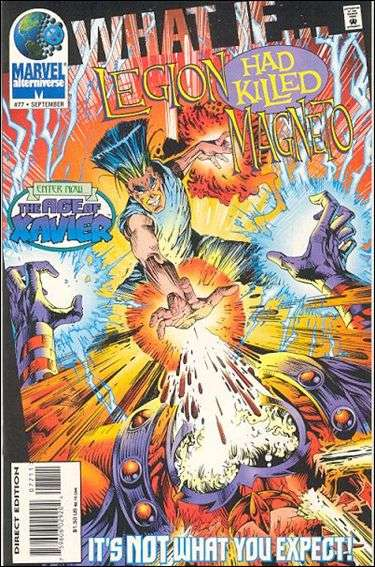 Couverture de What If? vol.2 (1989) -77- What if... Legion had killed magneto ?