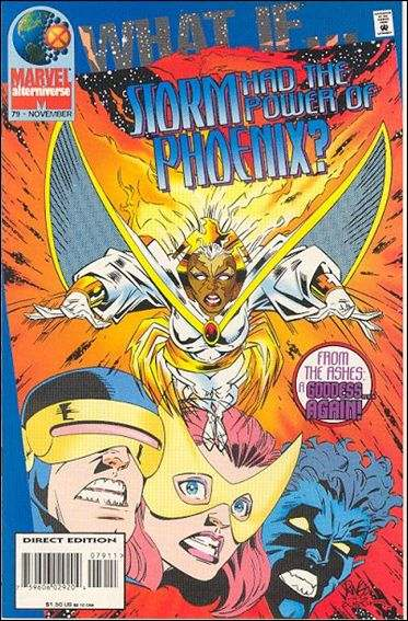 Couverture de What If? vol.2 (1989) -79- What if... Storm had the power of Phoenix?