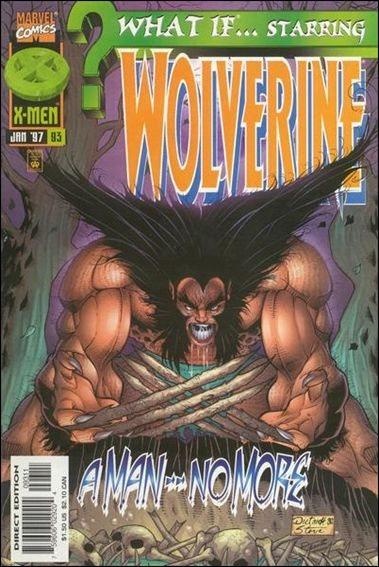 Couverture de What If? vol.2 (1989) -93- Wolverine : ferus