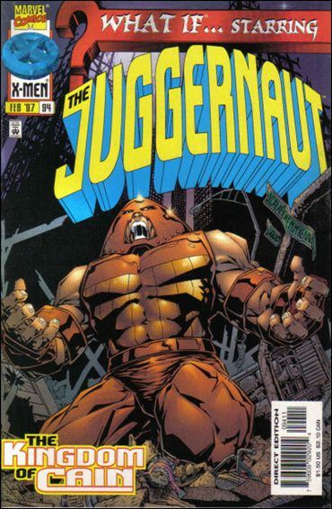 Couverture de What If? vol.2 (1989) -94- Juggernaut : wanderings