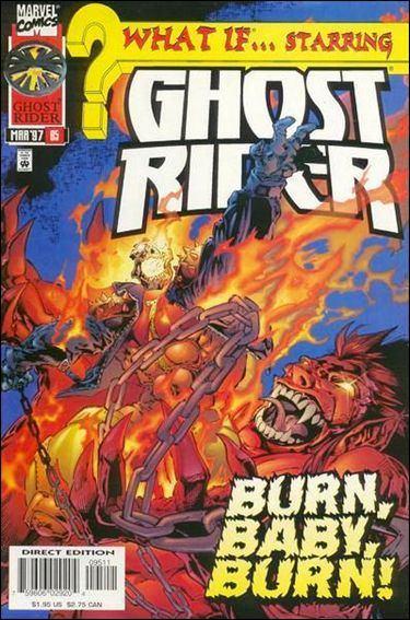 Couverture de What If? vol.2 (1989) -95- Ghost rider : broken soul