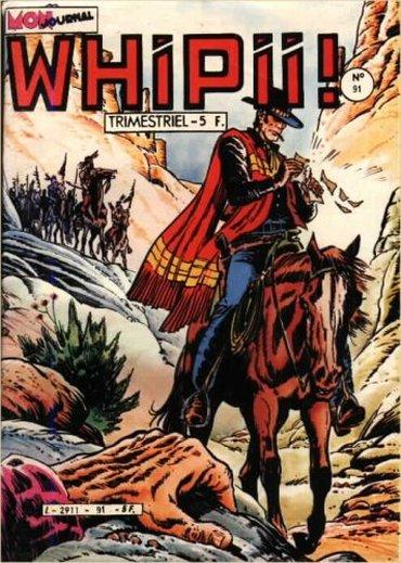 Couverture de Whipii ! (Panter Black, Whipee ! puis) -91- Numéro 91