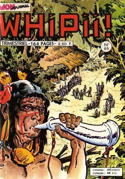 Couverture de Whipii ! (Panter Black, Whipee ! puis) -65- Stormy Joe - le méchant, le filou et la brute
