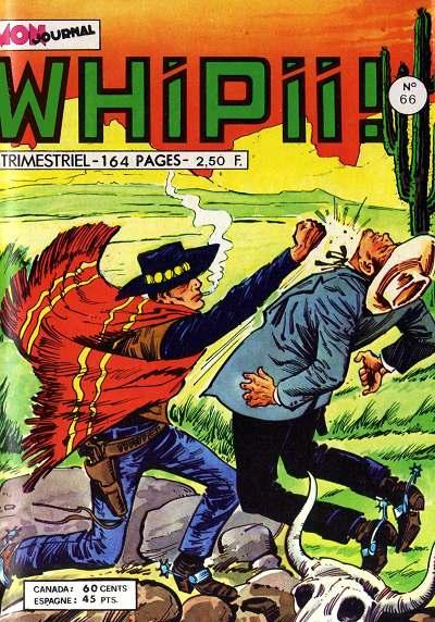 Couverture de Whipii ! (Panter Black, Whipee ! puis) -66- Larry Yuma - Le chasseur de primes