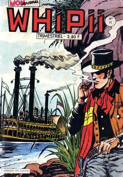 Couverture de Whipii ! (Panter Black, Whipee ! puis) -77- Stormy Joe - Les diables rouges