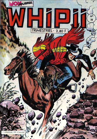 Couverture de Whipii ! (Panter Black, Whipee ! puis) -78- Stormy JOE - Les loups attaquent