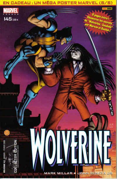 Couverture de Wolverine (Marvel France 1re série) (1997) -145- Agent du S.H.I.E.L.D. (5)