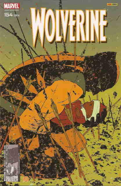Couverture de Wolverine (Marvel France 1re série) (1997) -154- L'homme blessé