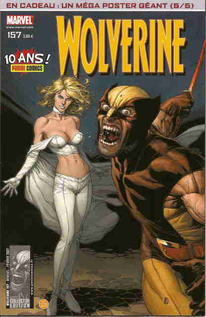 Couverture de Wolverine (Marvel France 1re série) (1997) -157- Peurs paniques