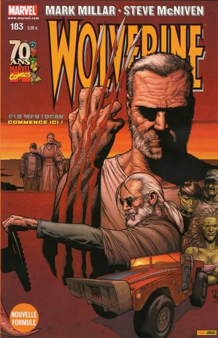 Couverture de Wolverine (Marvel France 1re série) (1997) -183- Old Man Logan (1/8)