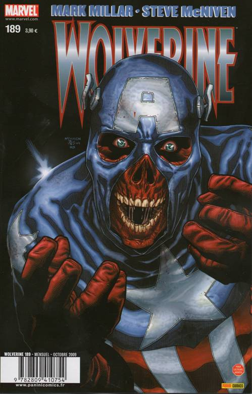 Couverture de Wolverine (Marvel France 1re série) (1997) -189- Old man Logan (7/8)
