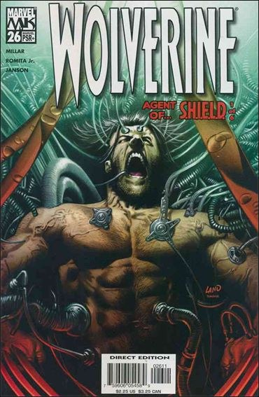 Couverture de Wolverine (2003) -26- Agent of s.h.i.e.l.d. part 1