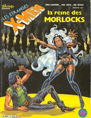 Couverture de X-Men (Les étranges) -9- La reine des Morlocks