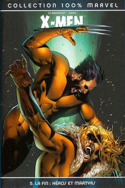 Couverture de X-Men (100% Marvel) -5- La Fin : Héros et Martyrs