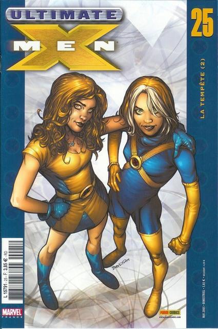 Couverture de Ultimate X-Men -25- La tempête (2)