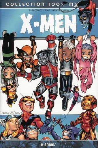 Couverture de X-Men (100% Marvel) -HS- X-Babies