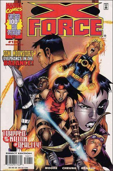 Couverture de X-Force Vol.1 (Marvel comics - 1991) -100- Dark cathedral