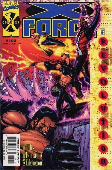 Couverture de X-Force Vol.1 (Marvel comics - 1991) -102- Games without frontiers part 1