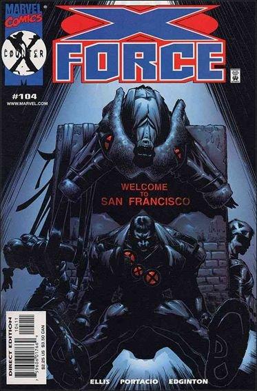 Couverture de X-Force Vol.1 (Marvel comics - 1991) -104- Games without frontiers part 3