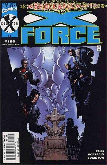 Couverture de X-Force Vol.1 (Marvel comics - 1991) -106- Shockwave part 1 : murder ballads