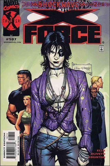 Couverture de X-Force Vol.1 (Marvel comics - 1991) -107- Shockwave part 2: murder ballads