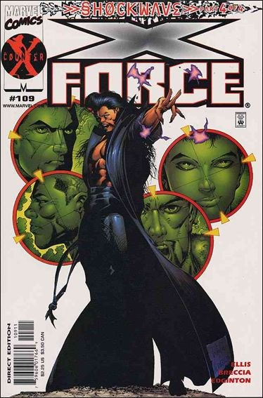 Couverture de X-Force Vol.1 (Marvel comics - 1991) -109- Shockwave part 4: murder ballads