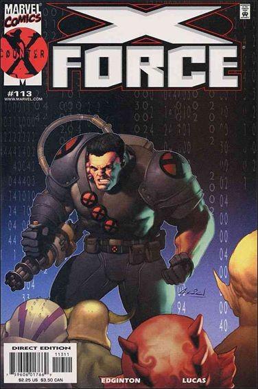 Couverture de X-Force Vol.1 (Marvel comics - 1991) -113- Rage war part 4