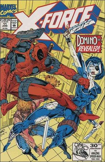 Couverture de X-Force Vol.1 (Marvel comics - 1991) -11- Friendly reminders