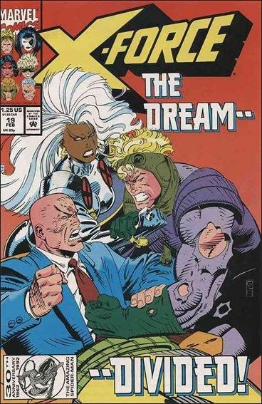 Couverture de X-Force Vol.1 (Marvel comics - 1991) -19- The open hand, the closed fist