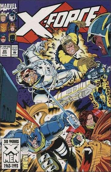 Couverture de X-Force Vol.1 (Marvel comics - 1991) -20- Assault on Graymalkin