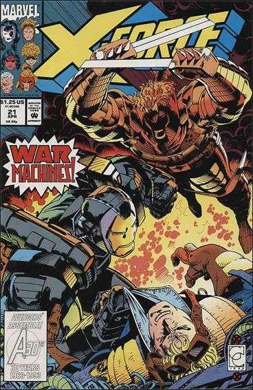 Couverture de X-Force Vol.1 (Marvel comics - 1991) -21- War machines