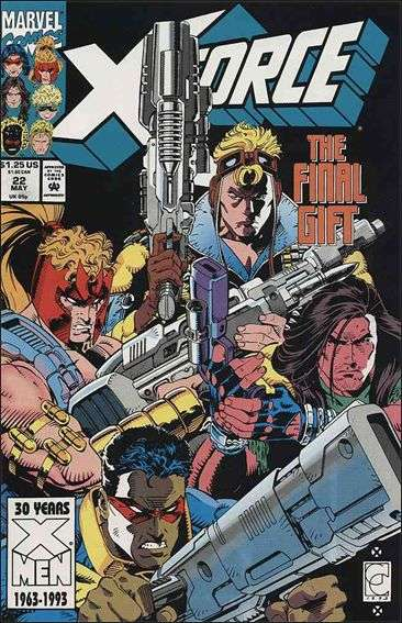 Couverture de X-Force Vol.1 (Marvel comics - 1991) -22- Ordnance weighed in blood