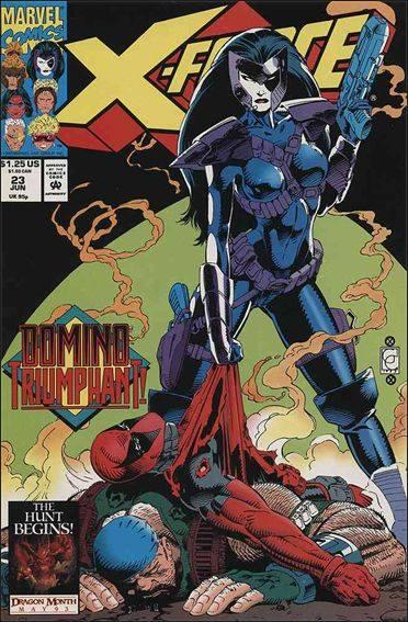 Couverture de X-Force (1991) -23- Compromising positions