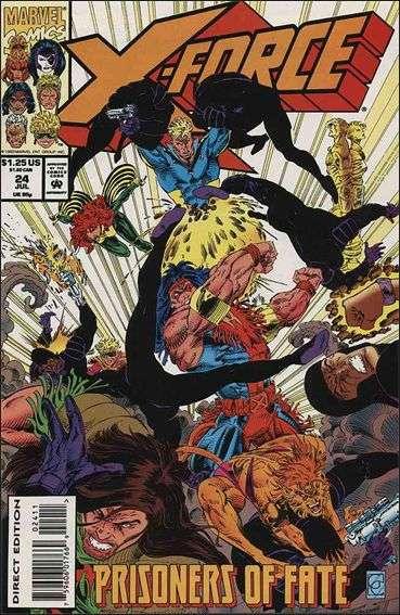 Couverture de X-Force Vol.1 (Marvel comics - 1991) -24- Prisonners of fate