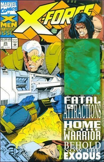 Couverture de X-Force Vol.1 (Marvel comics - 1991) -25- Back to front