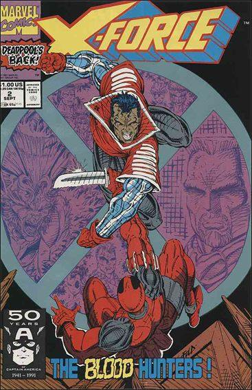 Couverture de X-Force Vol.1 (Marvel comics - 1991) -2- The blood Hunters