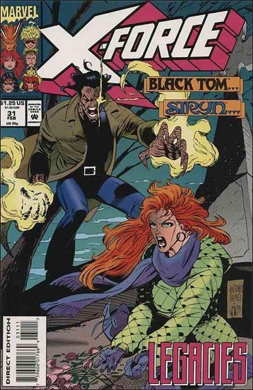 Couverture de X-Force Vol.1 (Marvel comics - 1991) -31- Cry Uncle !