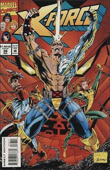 Couverture de X-Force Vol.1 (Marvel comics - 1991) -36- Genocidal tendancies