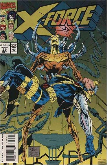 Couverture de X-Force Vol.1 (Marvel comics - 1991) -39- Letting go