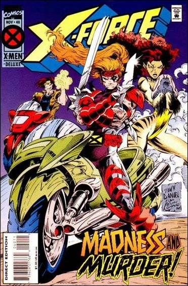Couverture de X-Force Vol.1 (Marvel comics - 1991) -40- Holding on