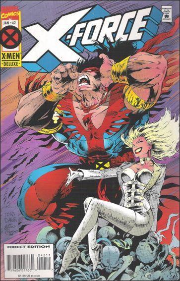 Couverture de X-Force Vol.1 (Marvel comics - 1991) -42- A lie of the mind