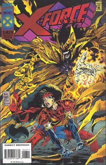 Couverture de X-Force Vol.1 (Marvel comics - 1991) -43- Teapot in a tempest