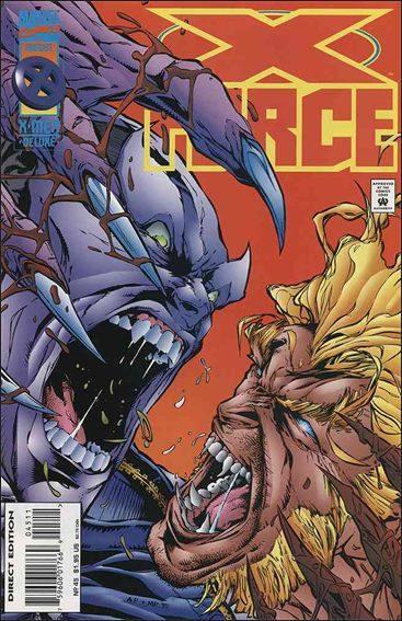 Couverture de X-Force Vol.1 (Marvel comics - 1991) -45- Under one roof