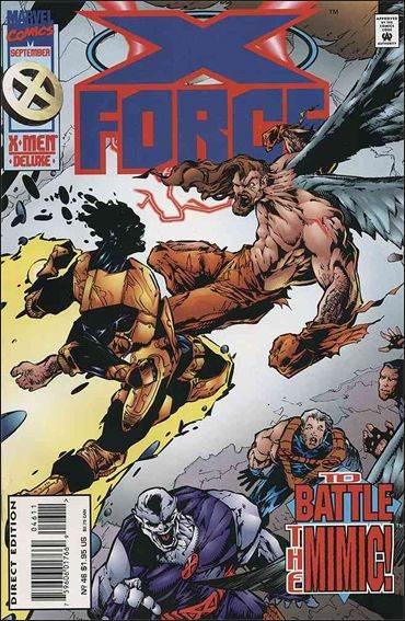Couverture de X-Force Vol.1 (Marvel comics - 1991) -46- Behind closed doors