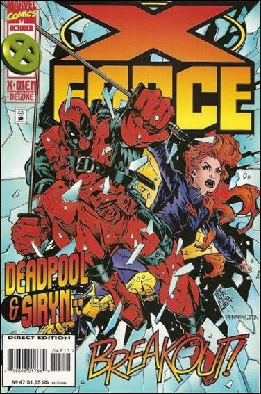 Couverture de X-Force Vol.1 (Marvel comics - 1991) -47- Breakout
